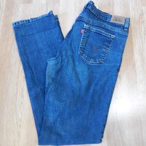 LEVIS 505 Straight Leg Denim Jeans sz 12 L